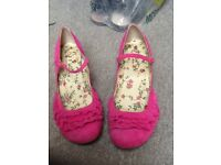 Pink suede OFFICE shoes size 41