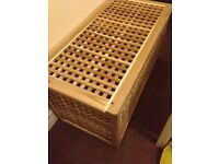 Storage Table/bench (solid wood)- Collection/ delivery