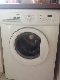 Zanussi automatic washing machine, perfect condition only three years old