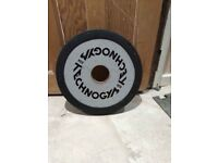Technogym Weight Plate Olympic 20kg single