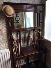 Beautiful Victorian hat/coat stand