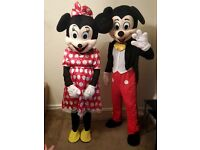 MR & MRS MOUSE - MASCOTS