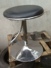 Bar Stool. used /Swivel seat with height adjuster