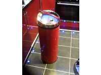 Morphy Richards sensor bin,50ltrs,opens automatically when you approach it,red/chrome,loc delivery