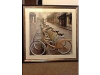 Beautiful City Street Ride picture 34x34in