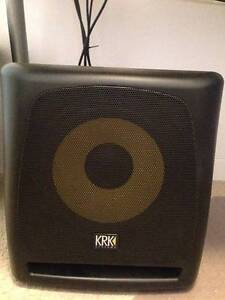 KRK10s Subwoofer, AKAI RPM500 Speakers , KA6 Audio Interface West Ryde Ryde Area Preview