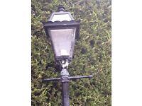 Victorian lamp post