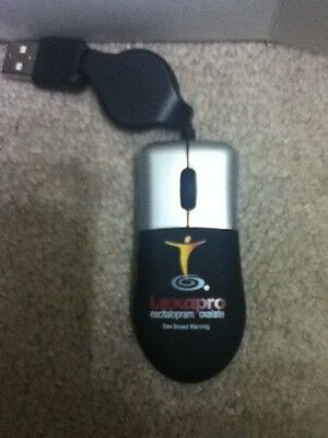 25 Lexapro Drug Rep Rectactable Optical Mini Mouse