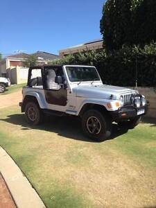 2006 Jeep Wrangler 65th Anniversary model Kinross Joondalup Area Preview