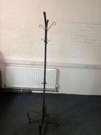 Metal coat/hat stand