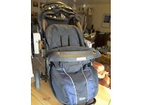 Graco complete baby travel system, Jogger Stroller 3 Wheel, Car seat with 2 bases and Travel cot.
