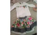 Monalisa all 12m coat £35 skirt and top £40 dress £25