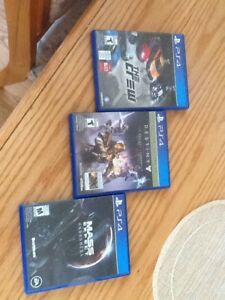 Playstation 4 games - $15 each