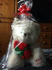 Teddy , gift wrapped