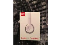 New Beats by Dr. Dre Solo2 Bluetooth Wireless Headphones - White Sealed RRP£269