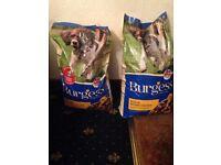 x2 brand new burgess 15kg rich in british chicken dog food