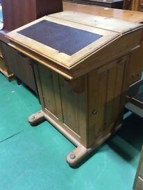 Davenport pine desk