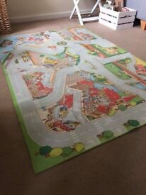Childs early learning centre car play mat