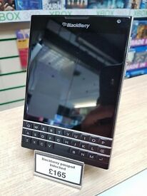 Blackberry Passport unlocked