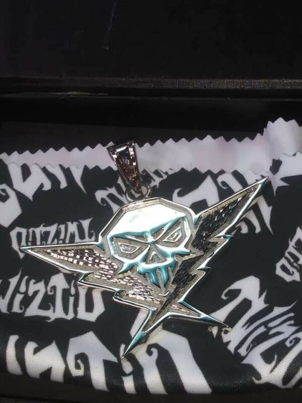 Twiztid Generation Nightmare Official Diamond Cut Charm MNE .925