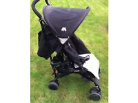 Use Pushchair included protection Rain cover. and shopping basket great value pushchair
