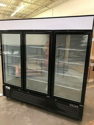 3 Door Glass Door Freezer Merchandiser