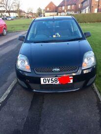 Ford Fiesta 1.25 style, low mileage 58reg