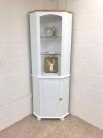 Solid Pine Corner Unit With Light *** £149 ***