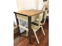 School desk and chair vintage
