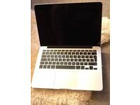 As new barely used perfect condition Apple MacBook Pro 13 inch with retina display