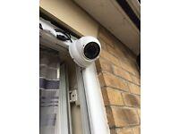 Analog dome 700tvl camera white