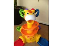 Fisher price sit to stand musicial giraffe