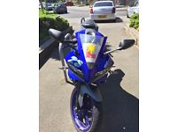 Yamaha YZF R-125 Race Blue Sports Bike ,Great condition, low mileage, 1 owner, fitted with alarm
