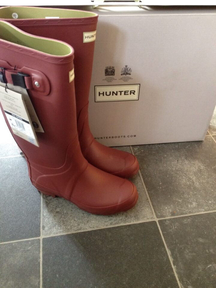 Hunter wellies - all brand new in box