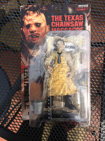 COLLECTION OF HORROR / FILM MODELS MOVIE MANIACS MCFARLANE
