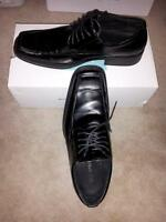 CALL IT SPRING black lace-up dress shoes men size 8