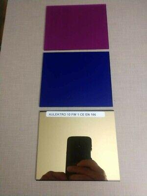Aulektro Extreme Bluemagenta 3pc Welding Lens Set Sh 11 Large 4x5