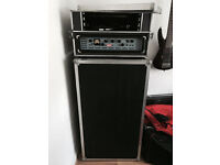 Ashdown EVO 900 Bass Head + Ashdown 8x10 Bass Cab + Custom Made Hard Case