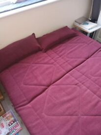 Sturdy double sofa bed