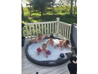 Hot tub holiday home to rent tattershall lakes