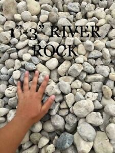 River rock / stone for sale - delivered to you !