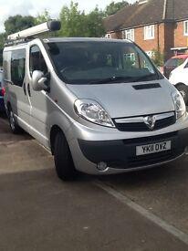 Vauxhall vivaro crew cab van, excellent condition,