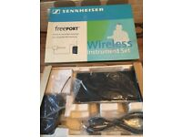 Sennheiser freeport wireless guitar unit