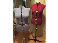 Adjustable dressmaking dummies
