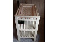 Changing Table + Boxes + spotty mat (£35)