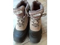 The North Face walking boots Size 7