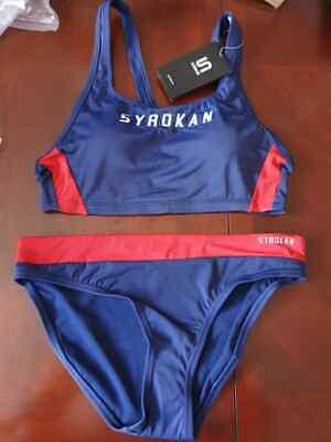 BNWT Syrokan Women's Workout Bikini/Athletic Swimwear Size L