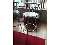 Two breakfast bar stools