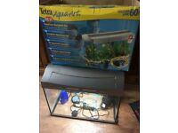 60l full set up fish tank used once