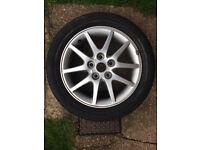 Alloy wheel & Michelin Pilot Tyre 205/50/16